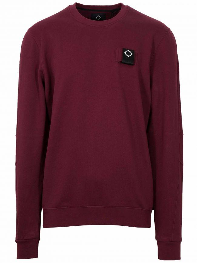 Spartan Red Logo Crew Neck Sweatshirt