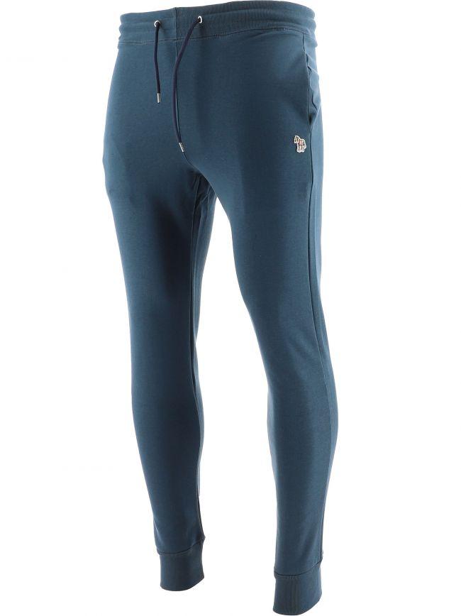 Petrol Blue Slim Fit Jogging Pant