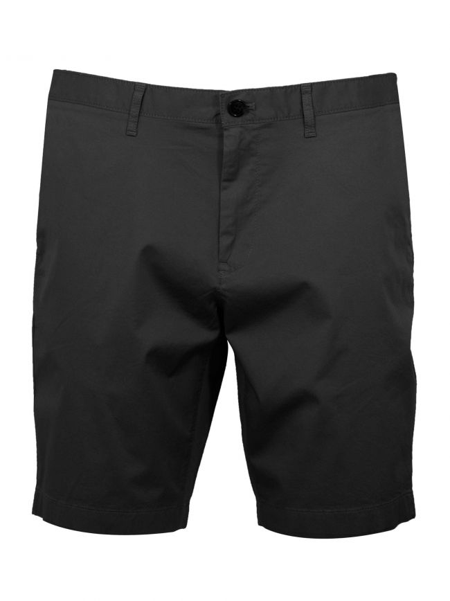 Black Chino Short