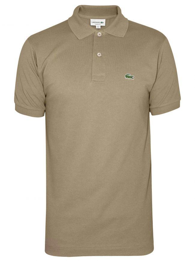 Classic Beige Polo Shirt