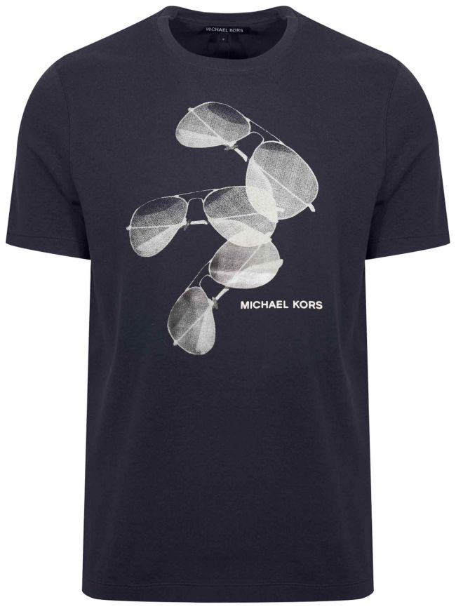 Navy Aviator Graphic T-Shirt