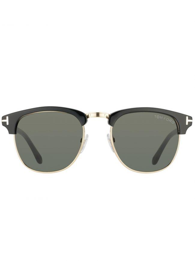 Black Henry Sunglasses