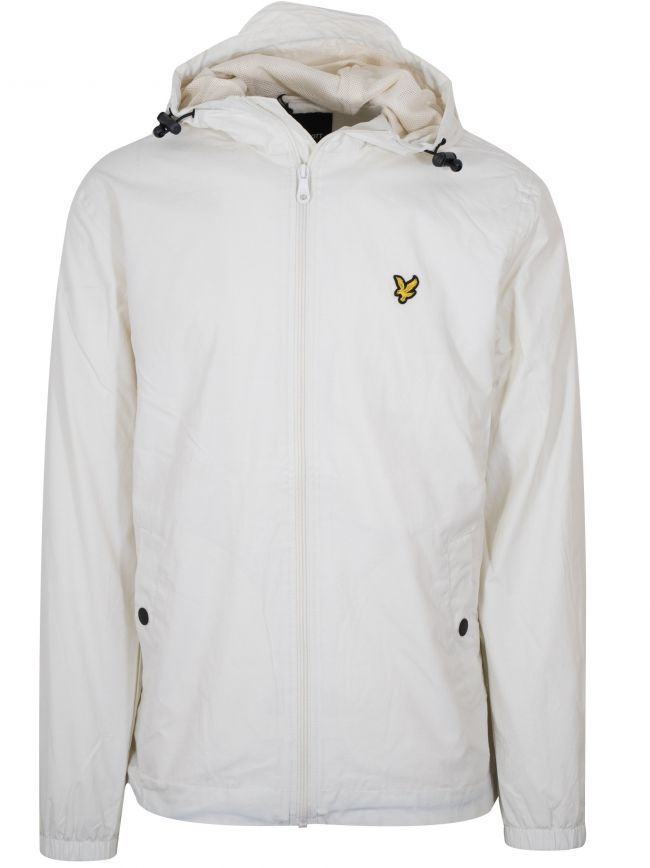 Snow White Hooded Lightweight Jacket