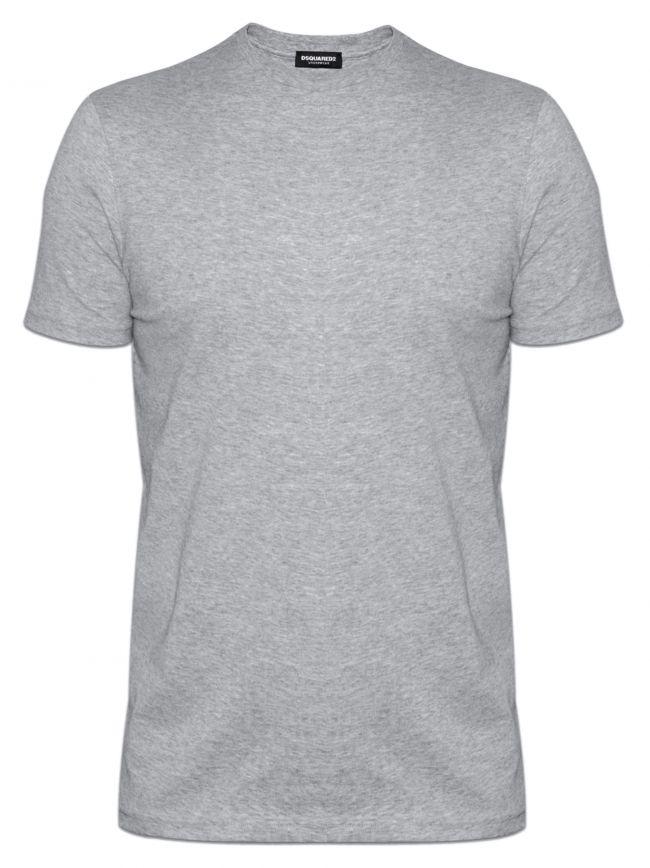Grey DSQ2 Crew Neck T-Shirt