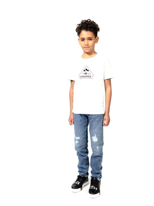 Pyrenex Kids White Karel T-Shirt
