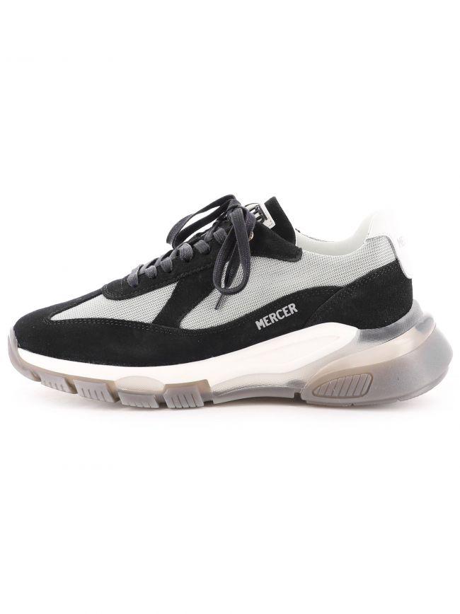 Black Wooster 2.0 Suede Sneaker