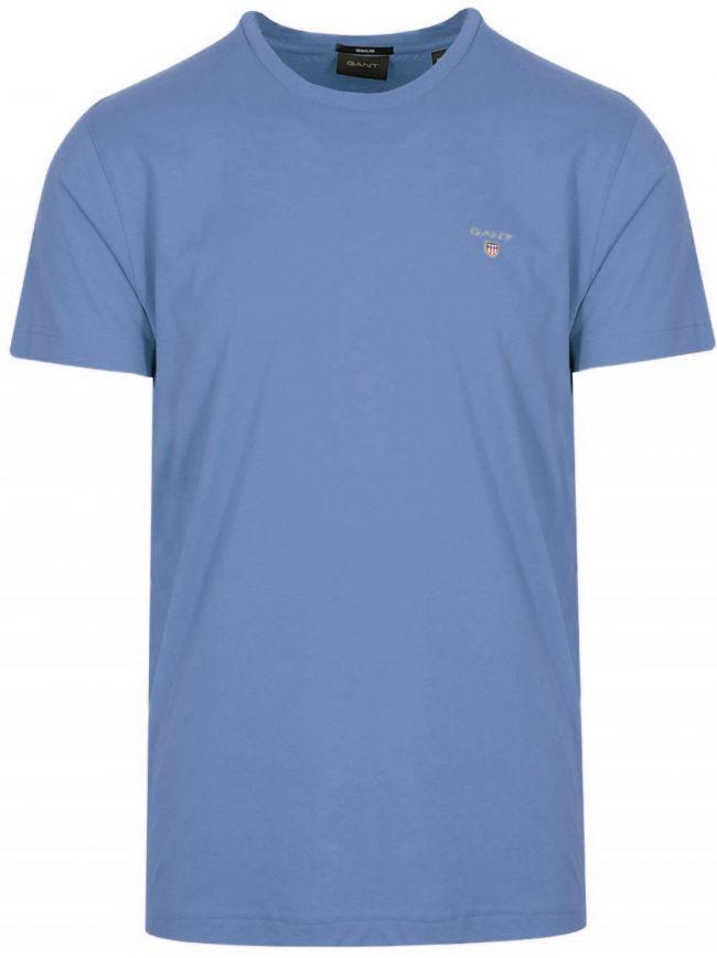 Pacific Blue Classic Crew Neck T-Shirt