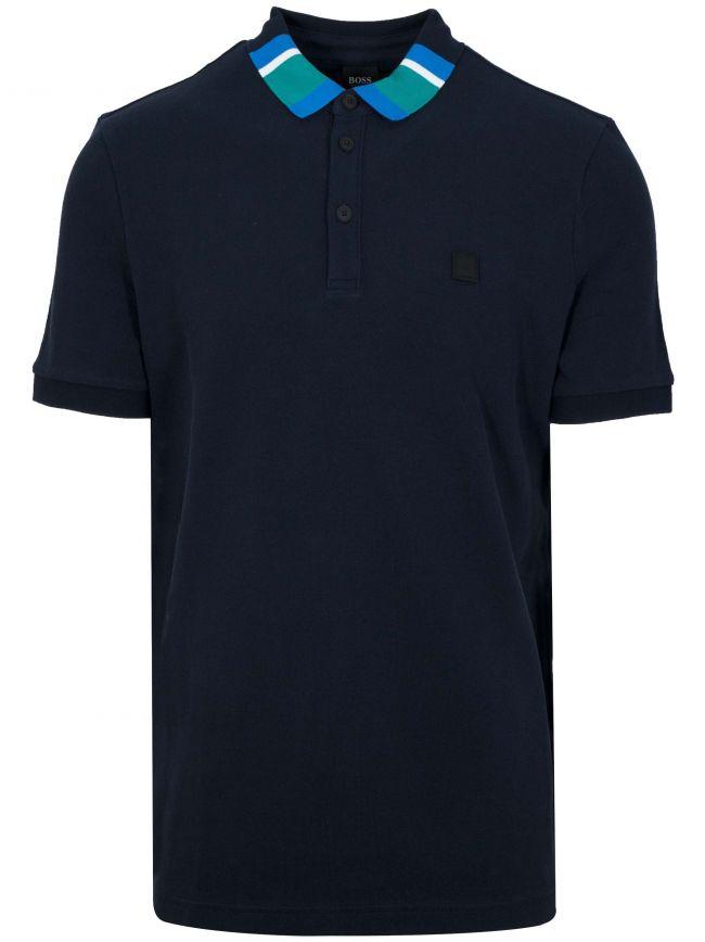 Polarized Navy Polo Shirt
