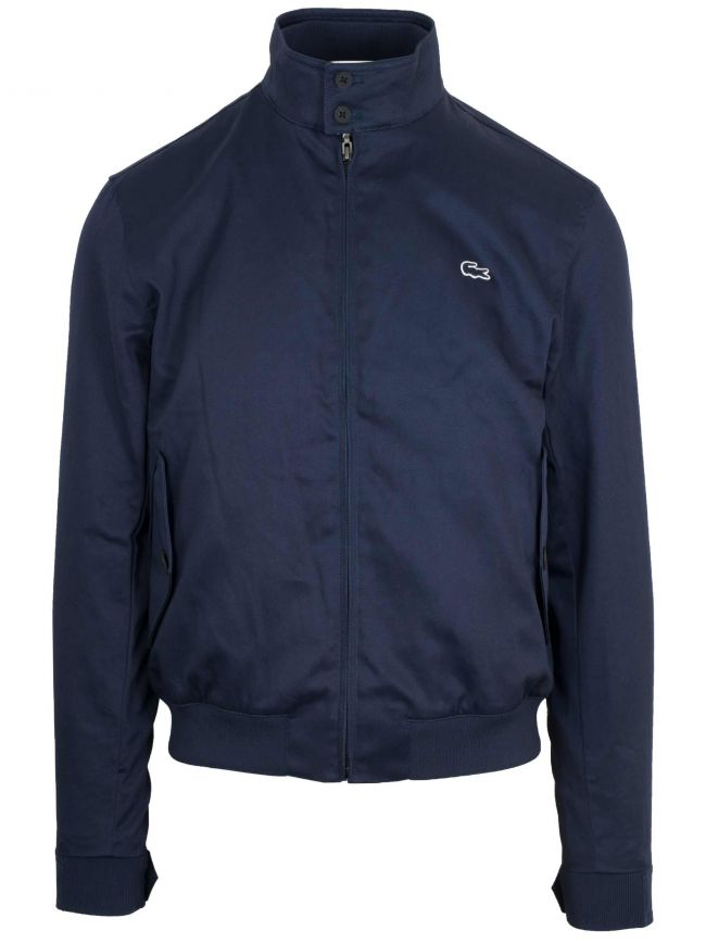 Navy Cotton Harrington Jacket
