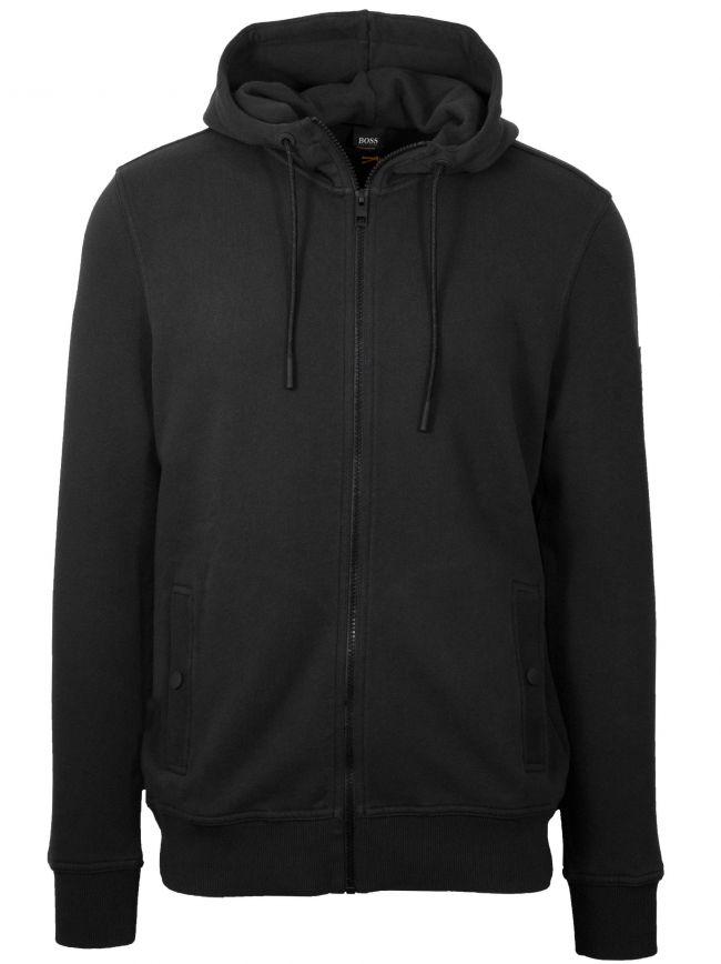 Black Zounds Hooded Sweatshirt