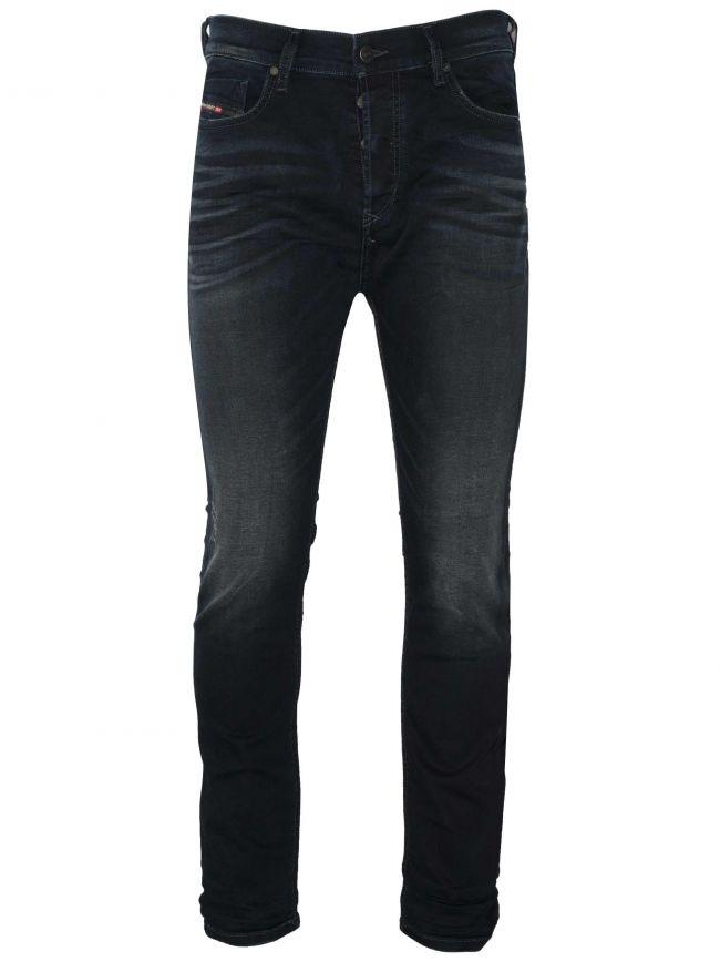 Slim-Carrot Fit Tepphar-X Dark Blue Jean