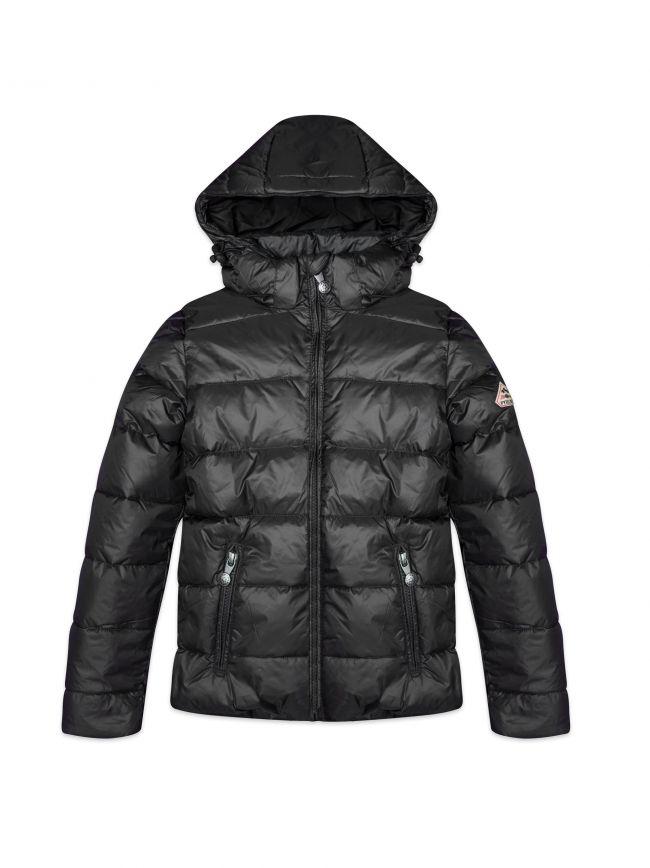Black Spoutnic Bubble Jacket