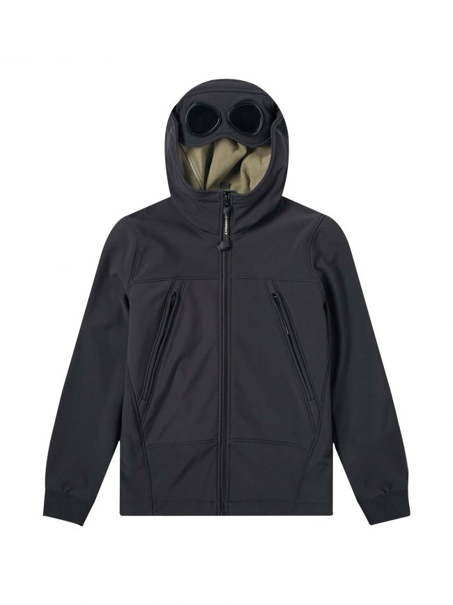 Navy Soft Shell Goggle Jacket