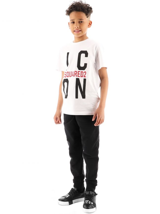 DSQUARED2 Kids White Relax ICON T-Shirt