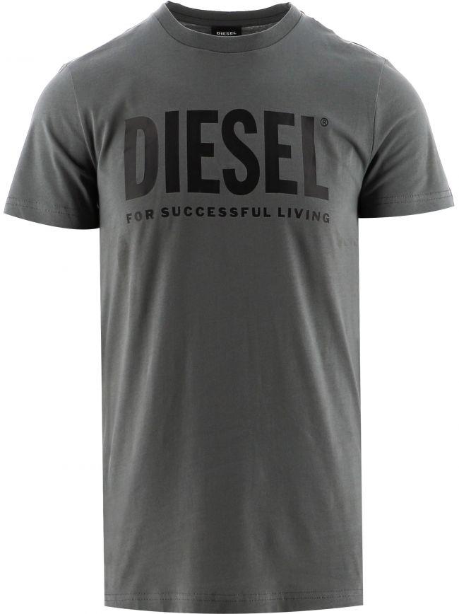 Grey T-Diego Logo T-Shirt
