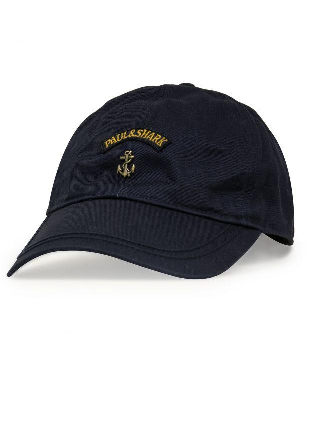 Navy Anchor Baseball Cap