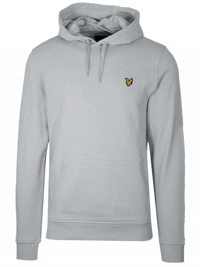 Light Silver Hooded Sweatshirt