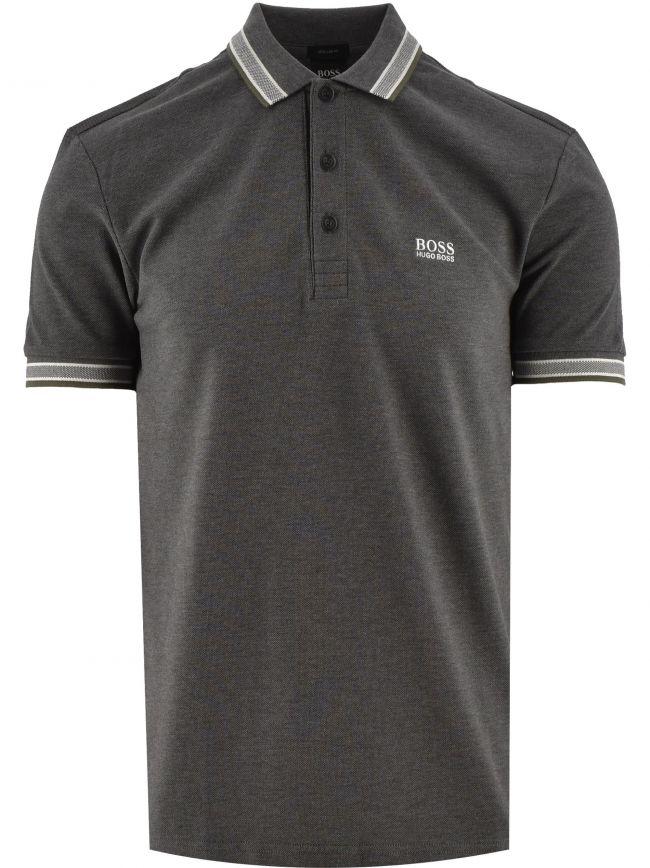Grey Paddy Pique Cotton Polo