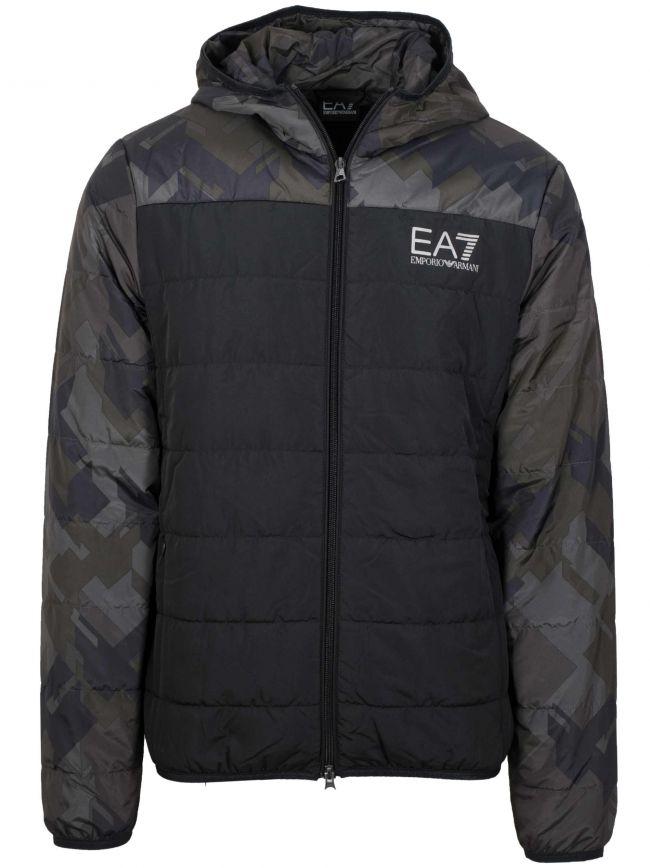 Black & Khaki Lightweight Jacket