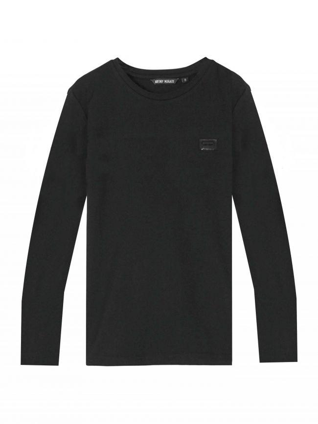 Charcoal Plaque Logo T-Shirt