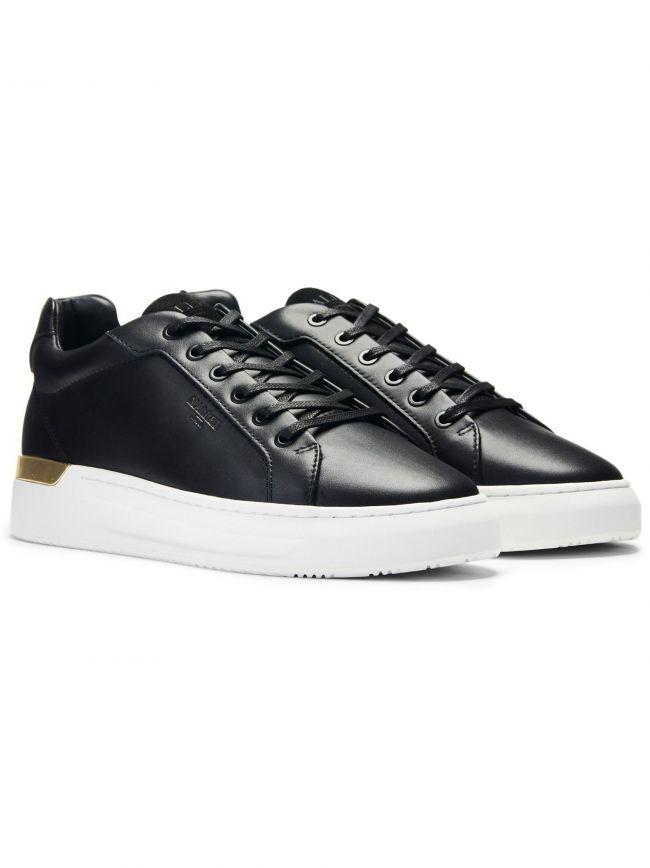 Black and Gold GRFTR Sneaker