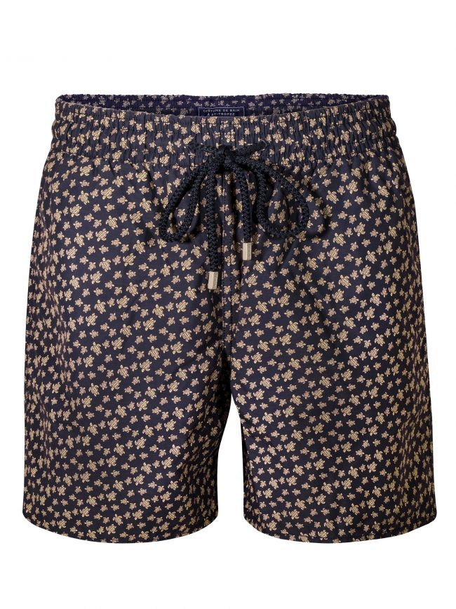 Moorea Navy Micro Turtle Swim Short