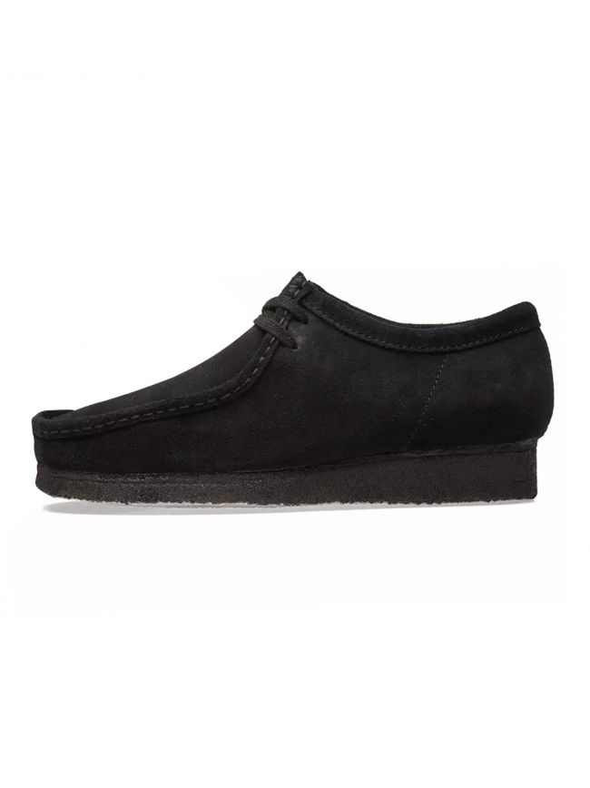 Black Suede Wallabee