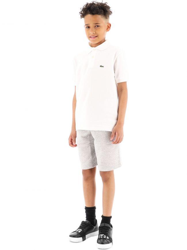 Lacoste Kids Grey Regular Shorts