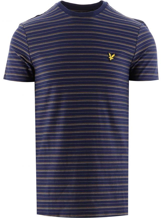 Navy Bungee Stripe T-Shirt