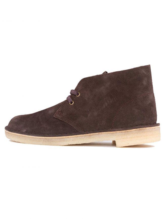 Chocolate Suede Desert Boot