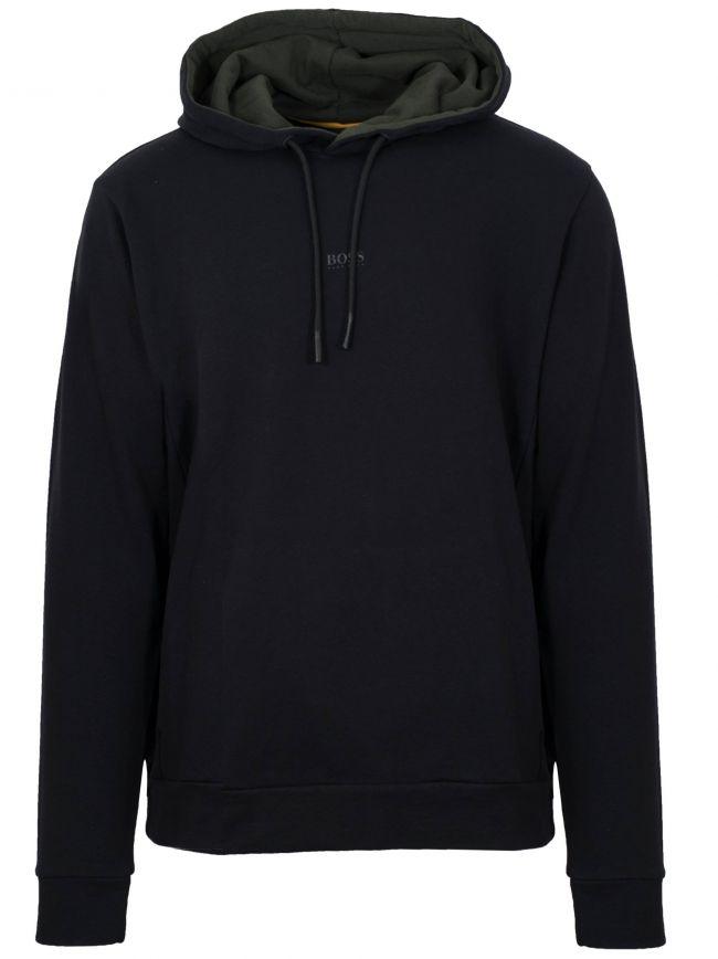 Black WMac Hooded Sweatshirt
