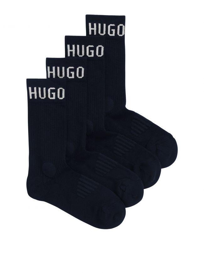 Navy 2-Pack Sport Socks