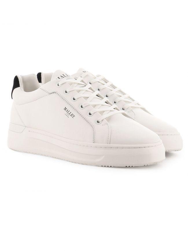 White GRFTR Tab Sneaker