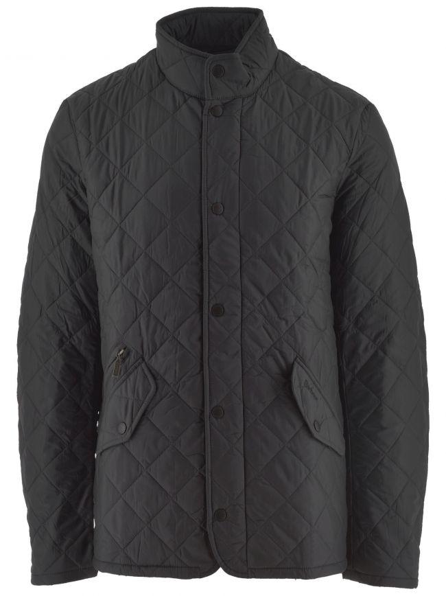 Black Flyweight Chelsea Quilt Jacket