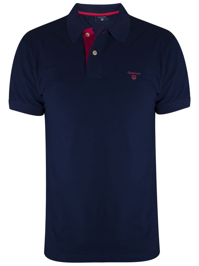 Persian Blue Polo Shirt