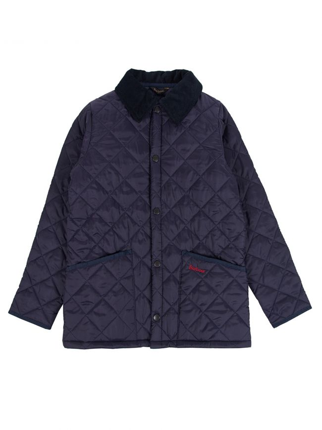 Navy Liddesdale Quilted Jacket