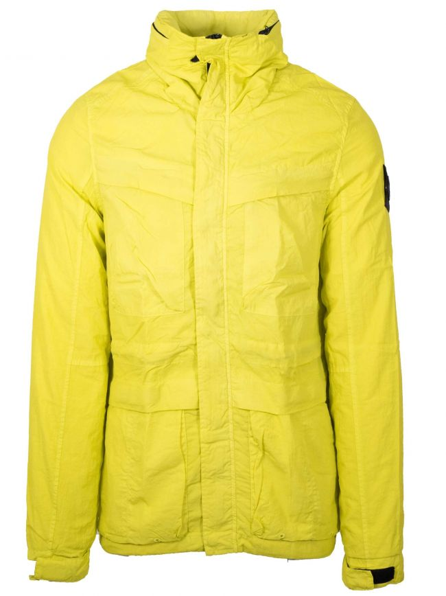 Sulphur Yellow Garment-Dyed Field Jacket