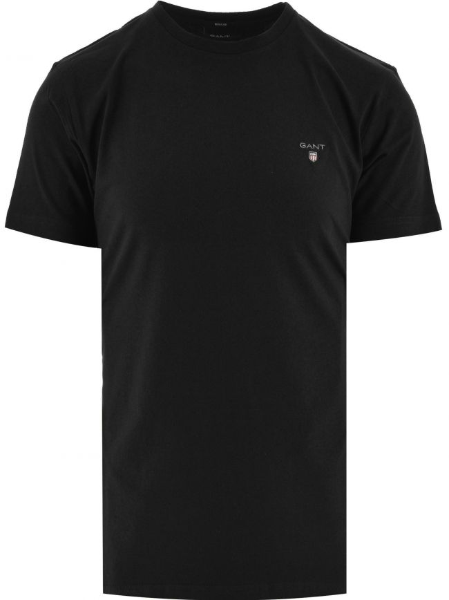 Black Classic Crew Neck T Shirt
