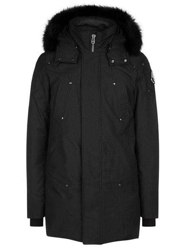 Black Stirling Parka Jacket