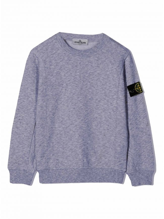 Navy Melange Sweatshirt