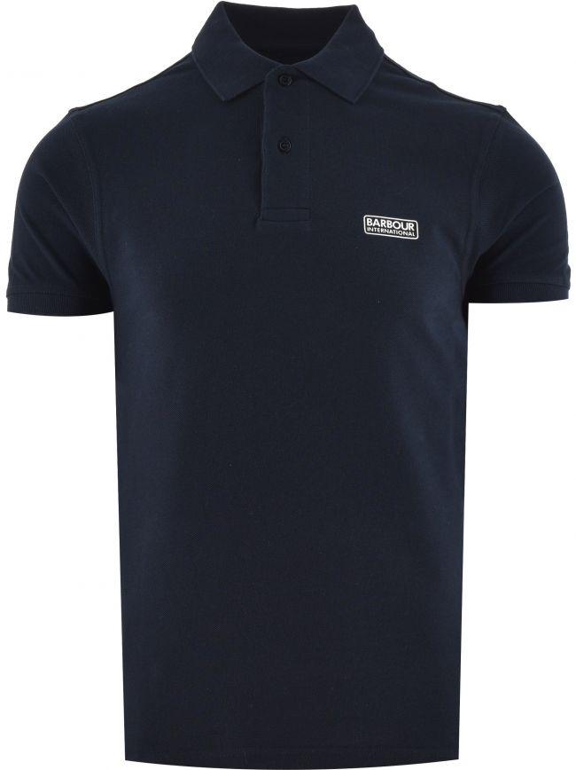 Navy Essential Polo Shirt