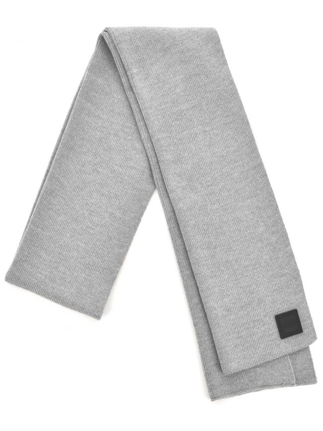 Grey Foxon Ribbed Scarf