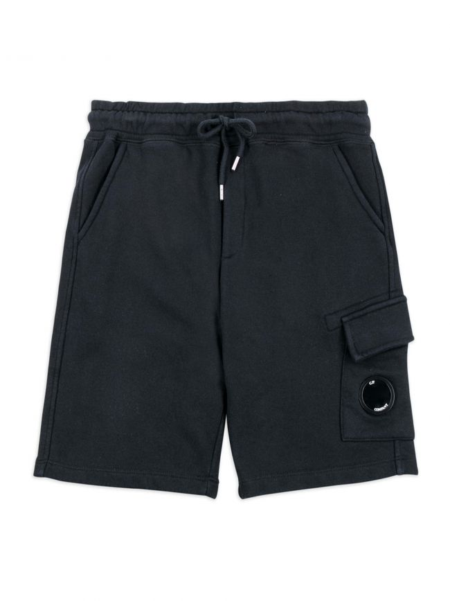 Navy Lens Logo Shorts