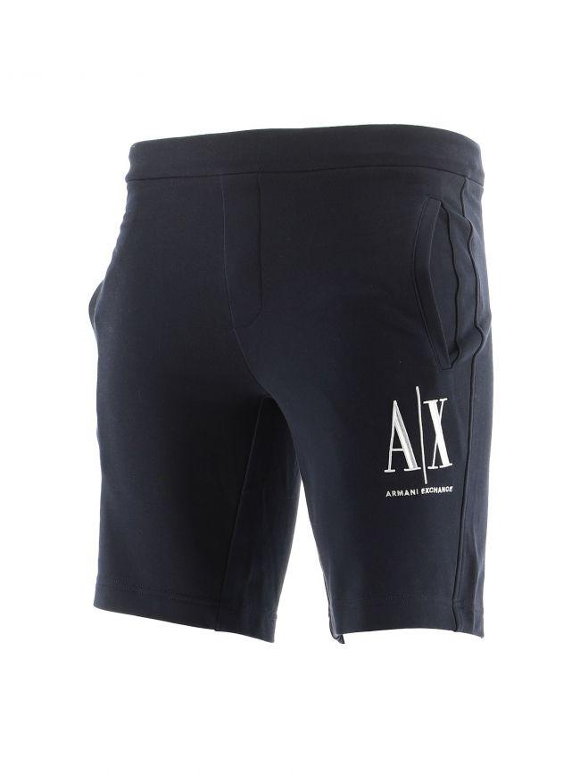 Navy Drawstring Shorts