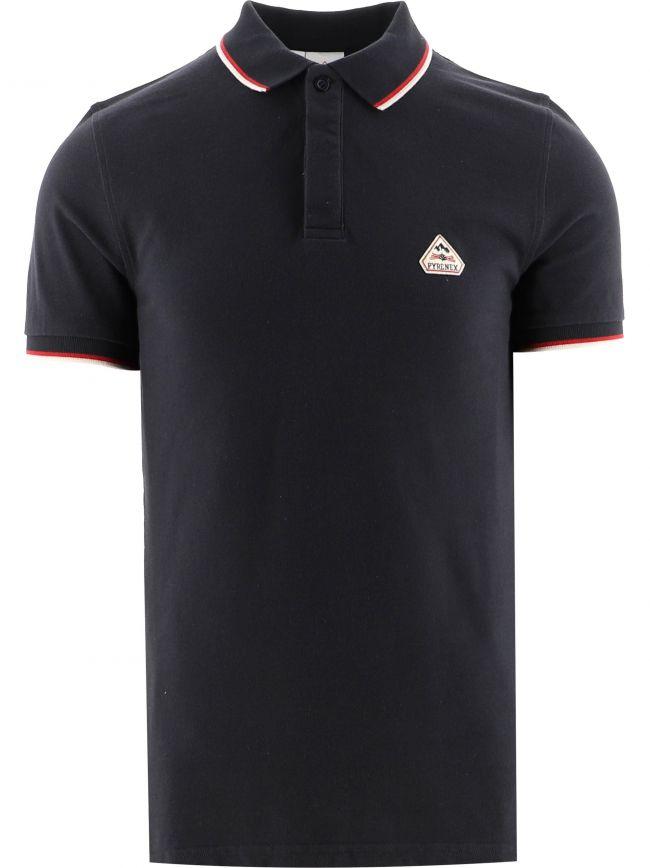 Navy Leyre Polo Shirt