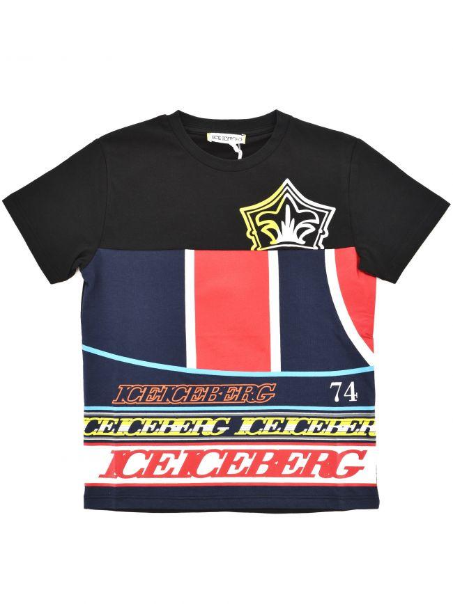 Iceberg Kids Black T Shirt
