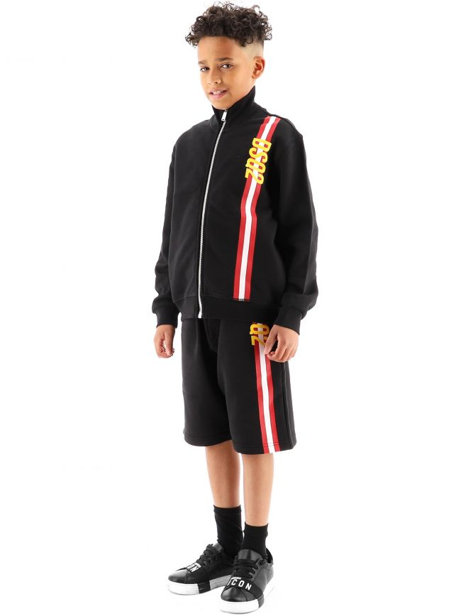 DSQUARED2 Kids Black Relax Sweatshirt
