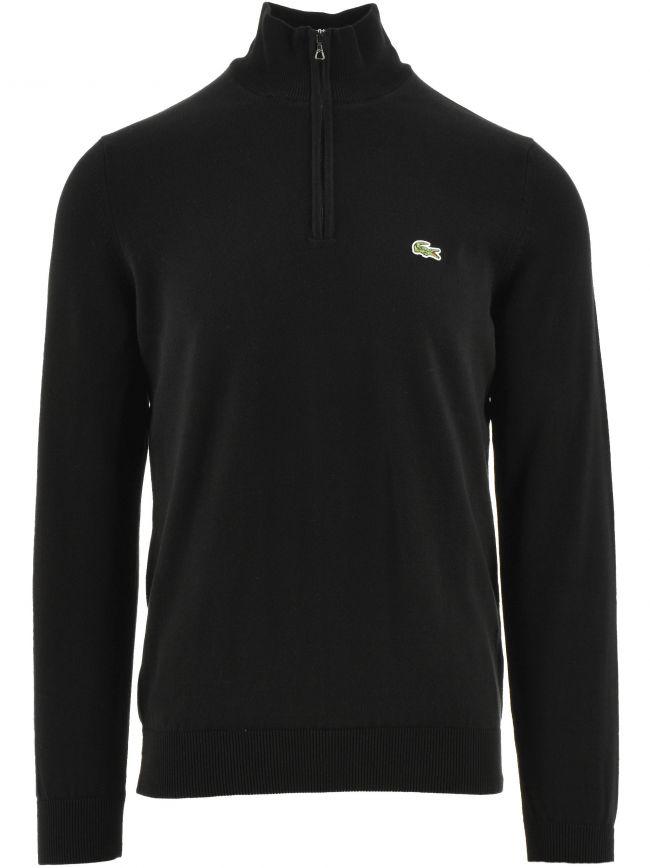 Cotton Quarter Zip Sweatshirt