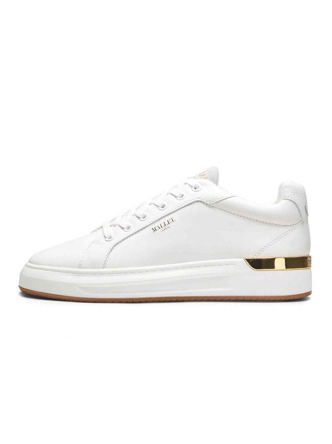 White Leather GRFTR Sneaker
