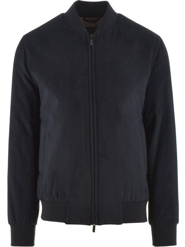 Navy Sueretto Jacket